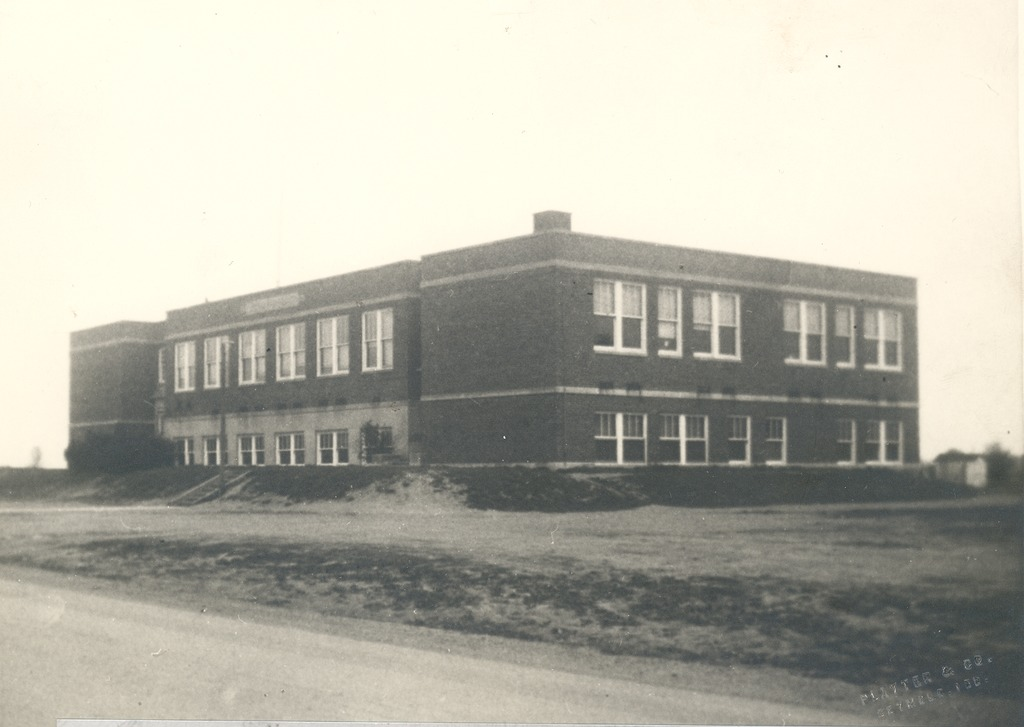 Cortland High School, 1938. - from George Polly, bw 7.94x5.64