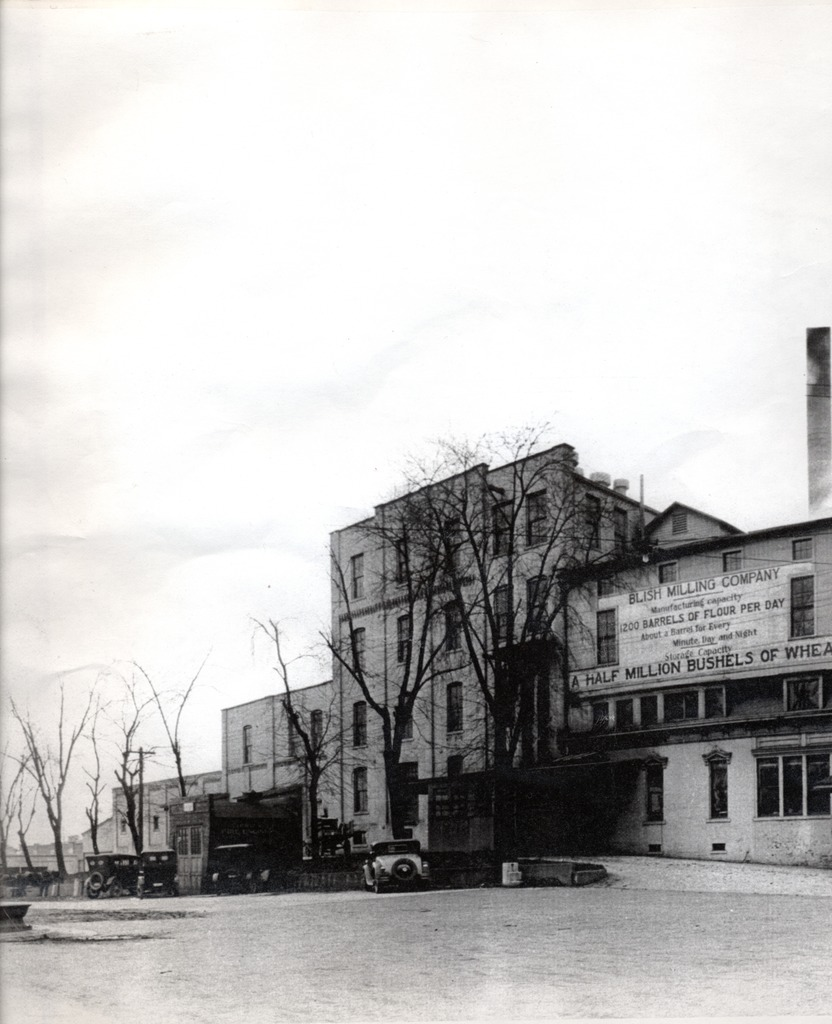 Blish Mill - This is not the original Mill that burned. It is the replacement.