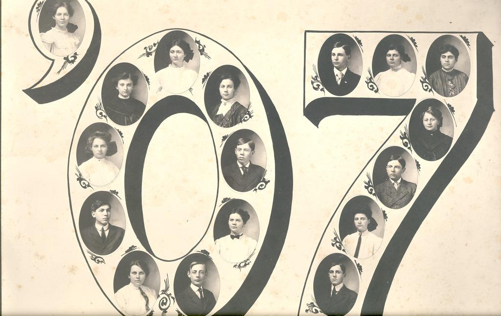 Graduating Class of 1907