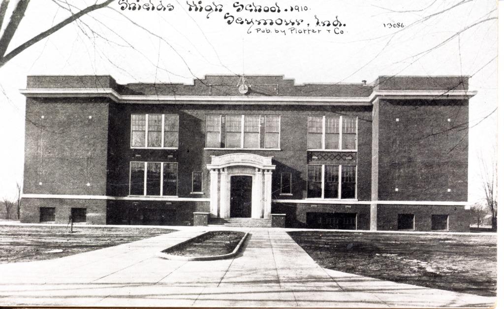 Shields High School 1910 Seymour