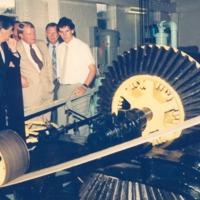 Big Wheels -Bill Bailey, John Bottoff , Unidentified - from the Seymour Tribune, C 8.32x5.68