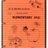M. R. Brown School Elementary 1981