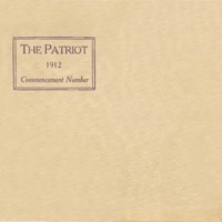The Patriot 1912 Commencement Number