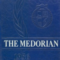 Medora High School Yearbook 1955-1956