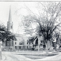 Congregational Church and Parsonage, Seymour - from Garvin Jennings