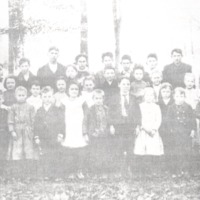 Weddleville School, Students and Faculty, 1907