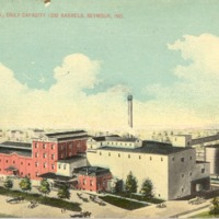Blish Mill 1913 daily capacity 1000 barrels, Seymour, In