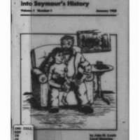 A Look Back into Seymour's History: Volume 1 Number 1
