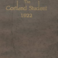 Cortland High School Yearbook 1922