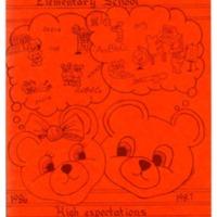 Margaret R. Brown Elementary School Yearbook 1986-1987