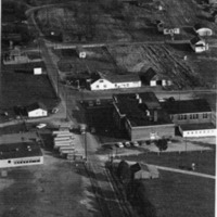 Clear Spring School, Aerial View