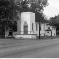 Methodist Church - from Elaine Allman, 3x4 bw