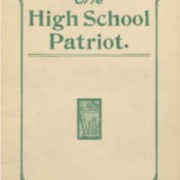 Shields High School Yearbook 1905