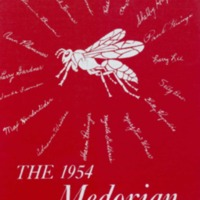 Medora High School Yearbook 1954