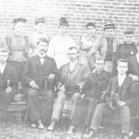 Weddleville School group, undated, courtesy of Mable Weddle. - from Paul Carr, bw 5.41x3.31