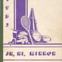 Seymour Shields Junior High School Yearbook 1953