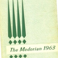 Medora High School Yearbook 1962-1963