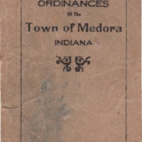 Ordinances of the Town of Medora Indiana