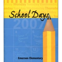 Emerson Elementary Yearbook 2006-07