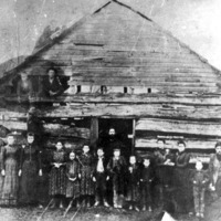 Old Homestead School - from Jackson County Historical Society