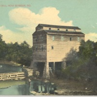 Helt's Water Mill, near Seymour, Ind.