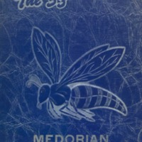 Medora High School Yearbook 1953