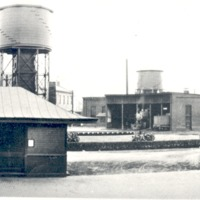 Seymour Round House and Turntable from North to South, 1910 - 1915 - from Sara Marling Lucas