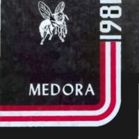 Medora High School Yearbook 1980-1981