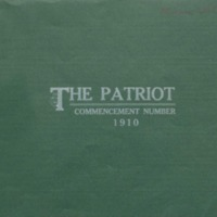 The Patriot Commencement Number 1910