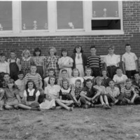 Clearspring School, Grade 6, Class Picture, 1951
