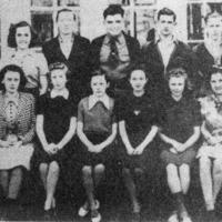 Vallonia School, Junior Class, 1939-1940