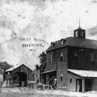 Grist Mill at Freetown.