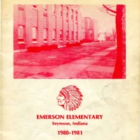 Emerson Elementary Yearbook 1980-1981