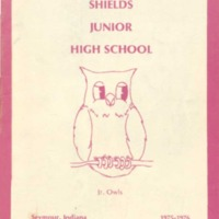 Shields Junior High School 1975-1976