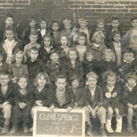 Clear Spring School, Grade 1, 1946-1947