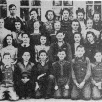 Vallonia School Students, 1939-1940