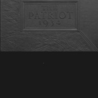 Shields High School Yearbook 1934