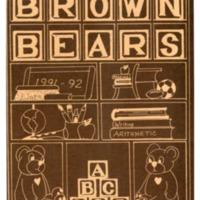Margaret R. Brown Elementary School Yearbook 1991-1992