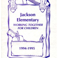 Jackson Elementary Working Together for Children 1994-1995