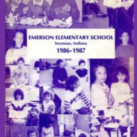 Emerson Elementary Yearbook 1986-1987