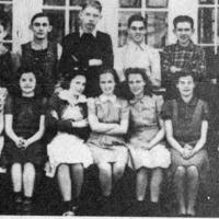 Vallonia School Sophomore Class, 1939-1940