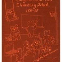 Margaret R. Brown Elementary School Yearbook 1984-1985