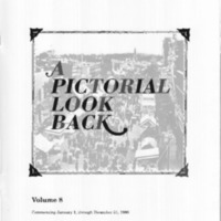 A Pictorial Look Back: Volume 8