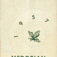 Medora High School Yearbook 1956-1957
