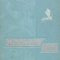 Medora High School yearbook 1960-1961