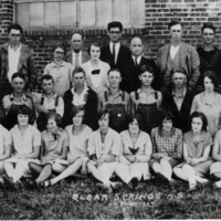 Clear Spring High School, Student Picture, 1927