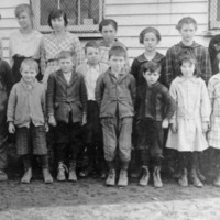 Braden School, student picture, Brownstown Township