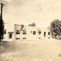 Al-Jax Chemical corner of E. Second and Broadway - from the Seymour Tribune, bw 9.27x7.41