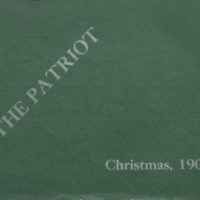 The Patriot Christmas, 1909