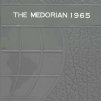 Medora High School Yearbook 1964-1965